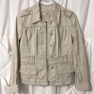 Tommy Hilfiger Vintage khaki jacket Size S/P